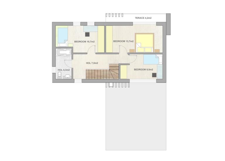 Type3 - 1st floor