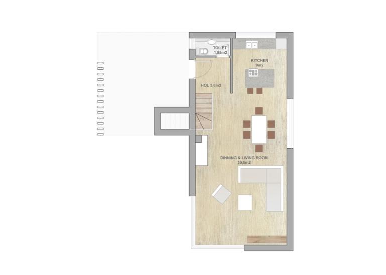 Type3 - ground floor