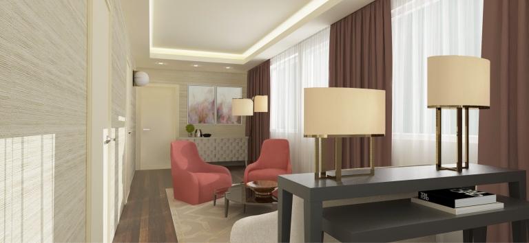Vienna small living room